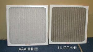 Clean/Dirty AC Filters